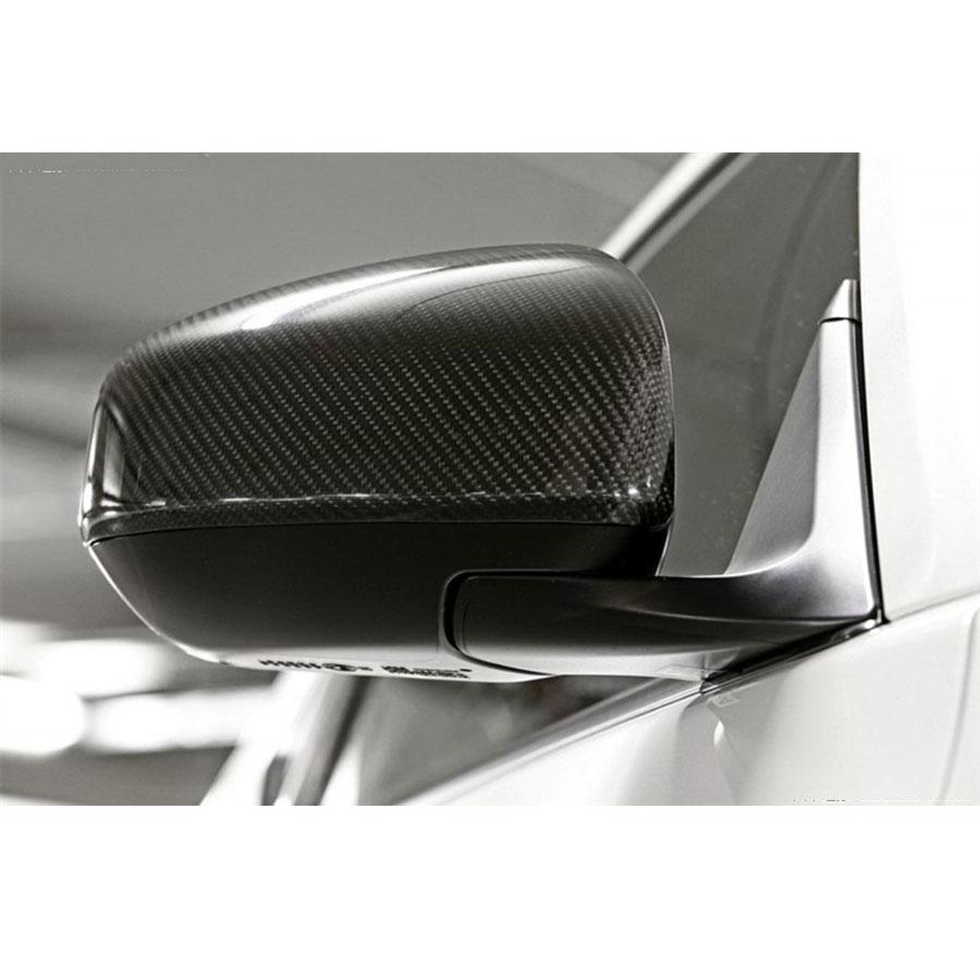 For nissan fairlady z34 370z jdm real carbon fiber side door mirror cover 2009 2016