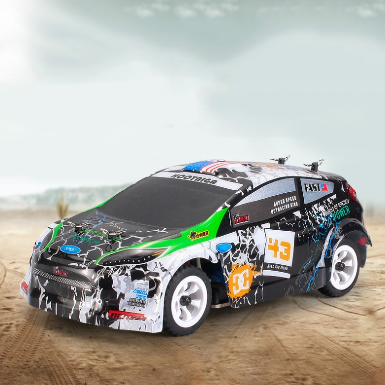 High Speed 30km/h K989 RC Racing Car 4WD 2.4GHz Drift Remote Control Toys 1:28 Electronic Off-road car