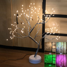 55cm / 1.8FT  Tabletop Tree Light  Touch Switch LED Tree Lamp Layout Indoor Decoration Novelty Lamp D30