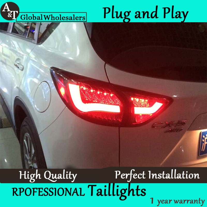 A&T Car Styling for Mazda CX-5 Taillights Taiwan Sonar Mazda CX-5 LED Tail Light Rear Lamp DRL+Brake+Park+Signal led светильник bao workers in taiwan led