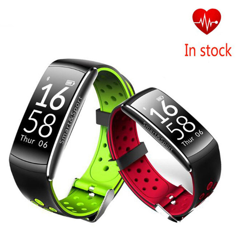 Pulsometer Watches Blood Pressure Smart Band Pedometre Vibrating Alarm Clock Fitness Bracelet Touch Screen For xiomi pk fitbits
