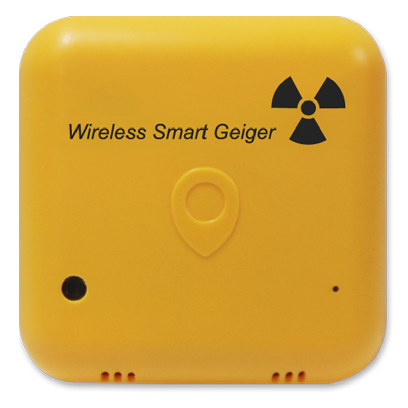 Wireless Bluetooth Smart Geiger Nuclear Gamma X-ray Radiation Detector Counter for Smartphone Android IOS gmv2s geiger counter nuclear radiation detector personal dosimeter beta gamma x ray with alarm 2 4 tft lcd radioactive detector