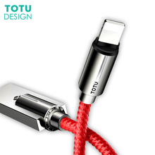 2.4A Fast Charge Data Charger Line Zinc Alloy USB Cable for iPhone X 8 7 6 5 5S SE iPad 3 Pack