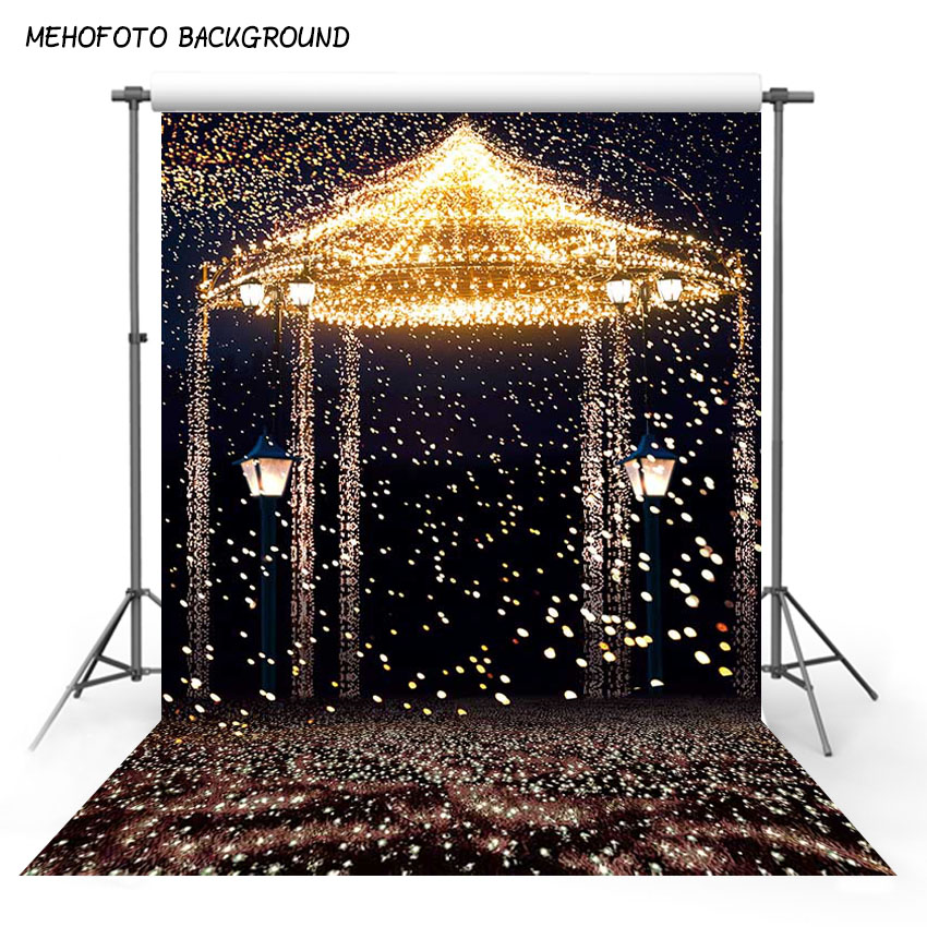 7x10ft Fotografica Wedding Photography Studio Photo Backdrop Star Highlights Romantic Aesthetic Fireworks Castle Backdrop Online Discount