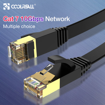 Coolreall Lan Cable RJ45 cat 7 cable rj 45 Ethernet Network Cable for Cat6 Compatible Patch Cord for Laptop Router  Cable baseus ethernet cable cat 6 lan cable cat6 rj 45 network cable 15m 10m 5m 3m patch cord for laptop router rj45 internet cable