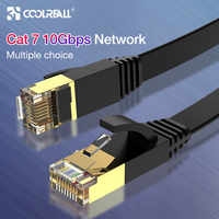 Coolreall Lan Cavo RJ45 gatto 7 cavo rj 45 Cavo di Rete Ethernet per Cat6 Compatibile Patch Cavo per il Computer Portatile Router cavo