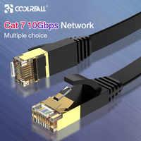 Coolreall Lan câble RJ45 cat 7 câble rj 45 Ethernet câble réseau pour Cat6 Compatible cordon de raccordement pour ordinateur portable routeur câble