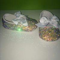 Dollbling Custom Baby Name And Birthday Date Stunning Incredible Nice Shoes Bridal Wedding Flower Girl Infant