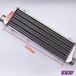 550*180*65mm uniwersalny Turbo Intercooler bar i płyta OD = 63mm przedni uchwyt intercooler