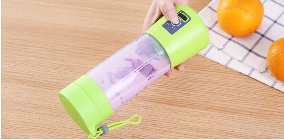 HTB1WQt7WgHqK1RjSZJnq6zNLpXay 380ml Portable Juice Blender USB Juicer Cup Multi-function Fruit Mixer Six Blade Mixing Machine Smoothies Baby Food dropshipping