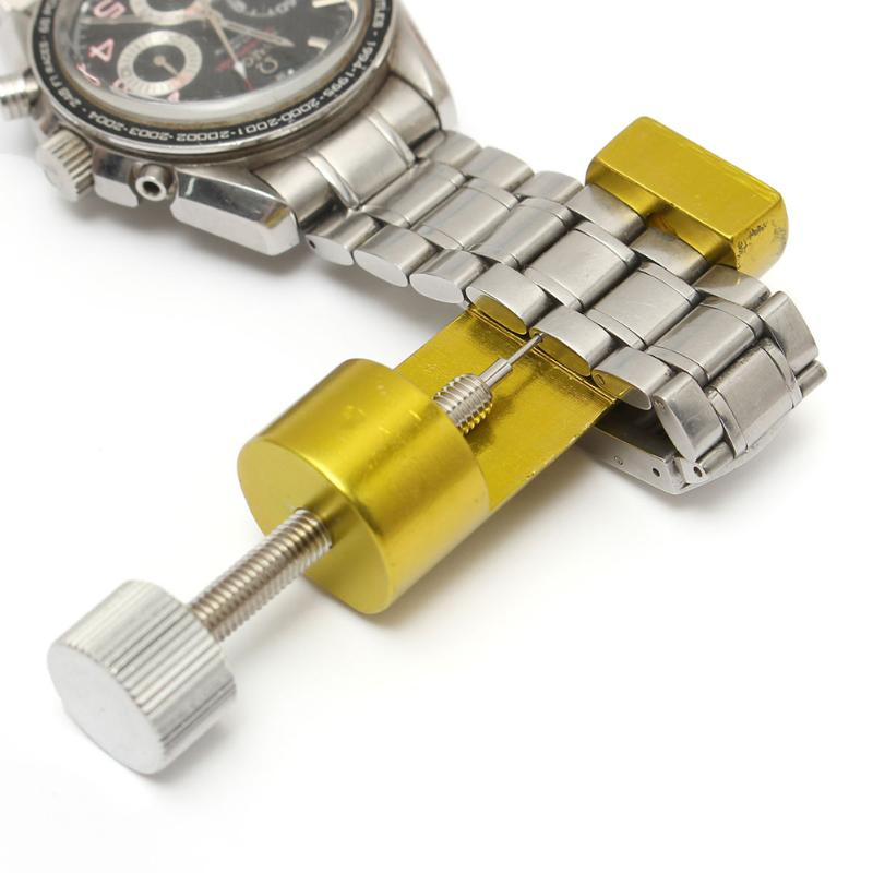 Watch Band Link Pin Remover Strap Adjuster Opener Repair Watchmaker Tool Band Slit Strap Bracelet Chain Pin Remover