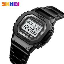 Relogio Masculino Men's Watches Electronic Led Digital Watches ManTop Brand Male Clock Waterproof Watch Man reloj hombre SKMEI