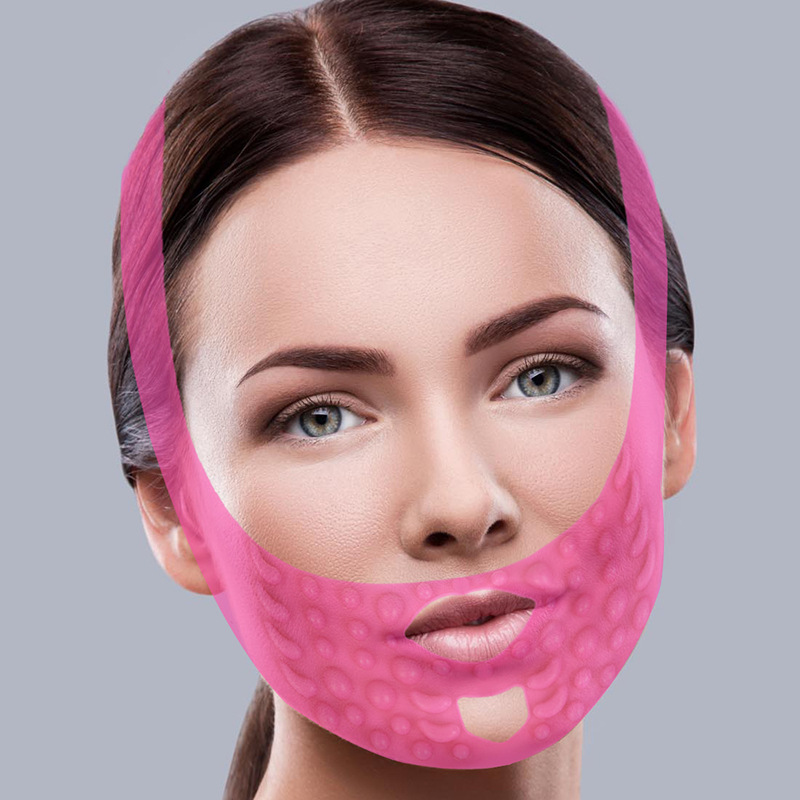 Silicone Face Slimming Mask Face Chin Lift Band Skin Care Lifting Wrap V Shape Double Chin Tightening Belts