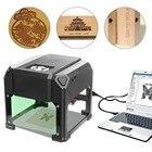 2000MW Small Laser Engraving Machine USB Laser Engraving DIY Home Desktop Micro Engraving Marking Machine Cutting Plotter