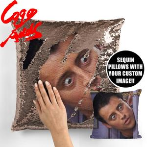 Image 3 - Friends TV SHOW sequin pillows Joey Tribbiani Quote Home Decor, Pillow Cover, Gift for Her, Gift for Him, Housewarming Gift, Gra