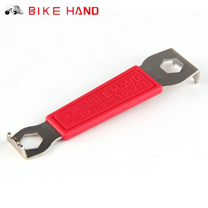 Bike Hand Wrench Tools Chainring Nut Wrench Crank Tool Install Remove Chainrings Bike Bicycle Tools YC-271