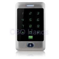 China Factory C30 Waterproof Metal Silver 125KHz Rfid Access Controller For 8000 Users