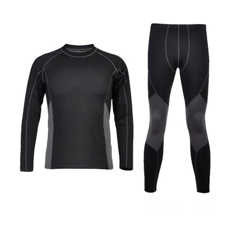 New Men's Winter Cycling Bike Sports Camping Hiking Thermal Underwear Clothing