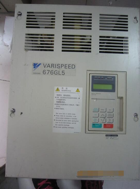 Inverter  CIMR-L5R4013 13KW 380V , Used  one , 90% appearance new  ,  3 months warranty , fastly shippingInverter  CIMR-L5R4013 13KW 380V , Used  one , 90% appearance new  ,  3 months warranty , fastly shipping