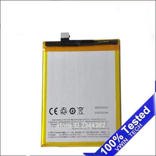 Для <font><b>Meizu</b></font> <font><b>M2</b></font> Примечание Батарея BT42C 100% новый большей емкости 3050 мАч резервного копирования Батарея Замена для <font><b>Meizu</b></font> Batterij <font><b>Batterie</b></font> Bateria