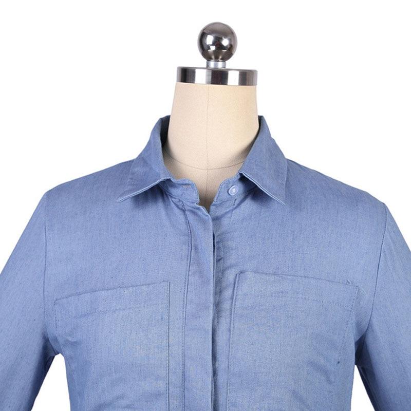 47ef31d7d2 Denim Dresses Women Plus Size Dress Long Sleeve Maxi Dress Shirt Vestido  Jeans 2018 Robe Femme Boho Harajuku Vintage Sexy Tunic Free Shipping  Wholesale And ...