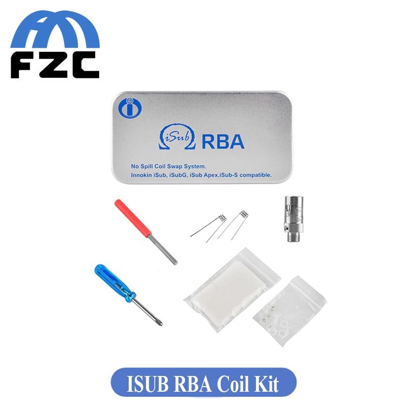 ФОТО Original Innokin ISub RBA Coil Kit for Isub G/Isub Apex/Isub-S Atomizer Innokin Coils RBA Eletronico Cigarette Vaporizador
