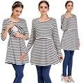 Mamalove primavera maternidade roupas de enfermagem de enfermagem roupas lactação amamentação dress para as mulheres grávidas abdominais maternas