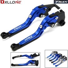 For Yamaha TMAX 500 TMAX 530 T-MAX500 T-MAX530 T MAX 500 530 2003 2004 2005 2006 2007 Adjustable Motorcycle Brake Clutch Levers cnc adjustable motorcycle brake clutch levers for yamaha tmax 500 tmax 530 t max500 t max530 t max 500 530