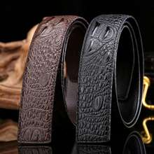Buckle men cinto Fashion