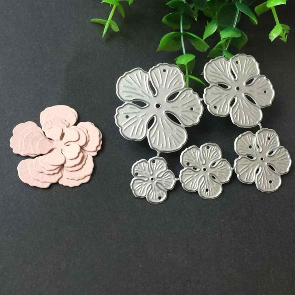 New Flower Metal Cutting Dies Stencils For Scrapbooking Photo Album Decoration Embossing Paper Card Craft Template