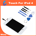 LL TRADER Grand AAA White Front Glass For iPod Touch 4 4G Touch Screen Replacement Parts Digitizer Assembly+ Tools+Adhesive