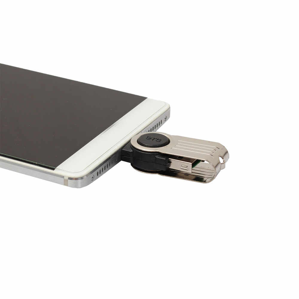 Mini usb kart okuyucu USB kart okuyucu OTG mikro usb USB 2.0 Mikro SD TF kart okuyucu adaptörü Android Telefon Için z65