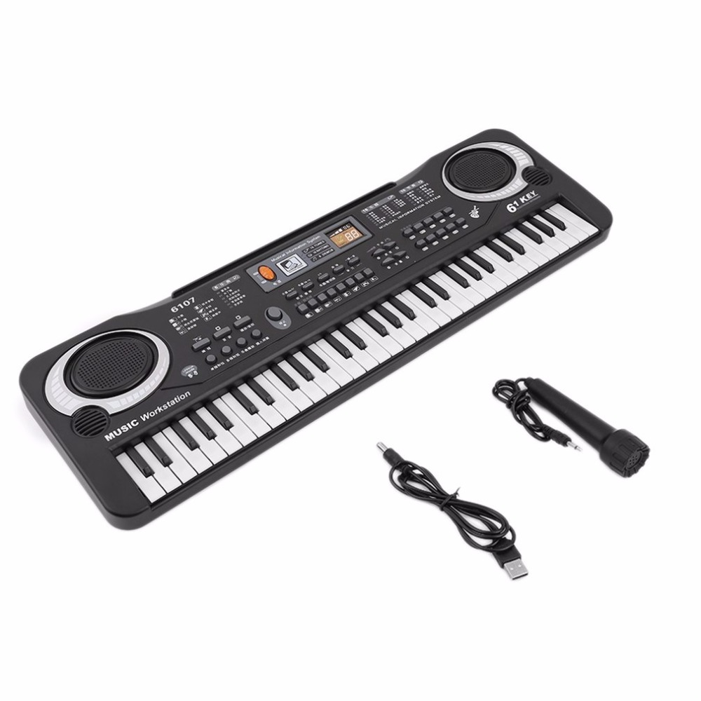 61 Keys Digital Music Electronic Keyboard Key Board Gift Electric Piano Gift Children Early Educational Tool For Kid New Arrival
