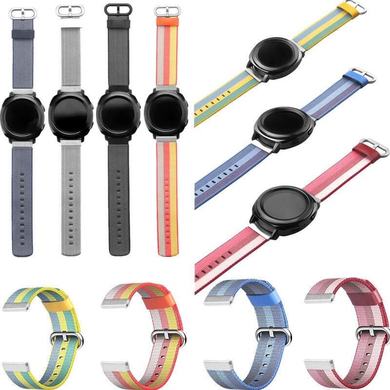ASHEI Montre Accessoires Nouveau Bracelet Pour Samsung Vitesse Sport Bandes Tissage En Nylon 20mm Remplacement Bracelet pour Sumsung Vitesse Sport