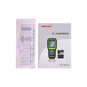 Image 4 - OBDStar X100 PROS C+D+E Model OBD2 Diagnostic Tool X 100 PROS Auto Key Programmer Odometer Correction EEPROM Adapter IMMOBILISER