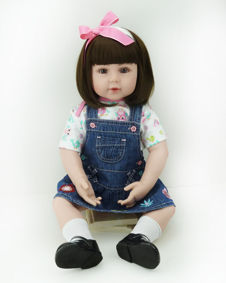 NPK Simulation dolls fashion dolls doll lovers the month sister in law training doll toys for