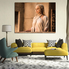Game of Thrones  Season 5 Khaleesi Art Canvas Posters and Prints Painting Decorative Picture For Bedroom Home Decoration