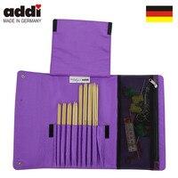 Addi Socks by Woolly Hugs 8 Bamboo Needle Set + Accessory