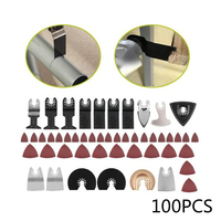100pcs Oscillating Multi Tool Saw Blades Accessories Kit For Bosch Fein Makita power tools accessories Home Garden Supplies