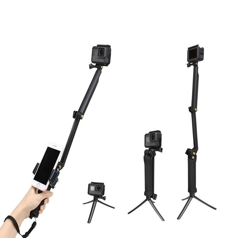 3 Way Grip Waterproof Monopod Selfie Stick For Gopro Hero