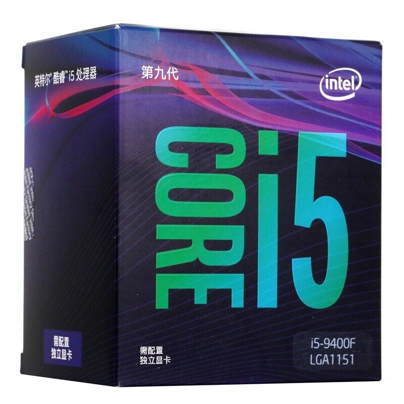 Intel Core i5-9400F Desktop Processore 6 Core 4.1 GHz Turbo Senza Grafica