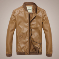M-4XL!!!! Spring Stand Collar White Thin Leather Jacket Men Jackets Motorcycle Man Mens Leather Jackets And Coats Design