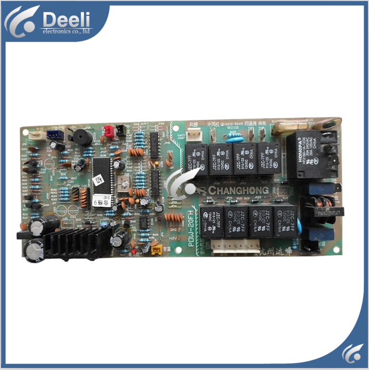 95% new good working for air conditioning motherboard Computer board POW-20FH good working цены онлайн