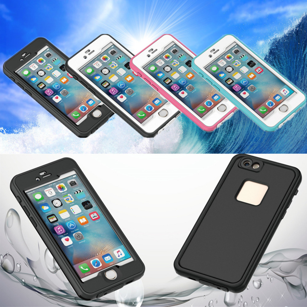 Waterproof shockproof underwater pc hard phone case cover for Apple projector price
