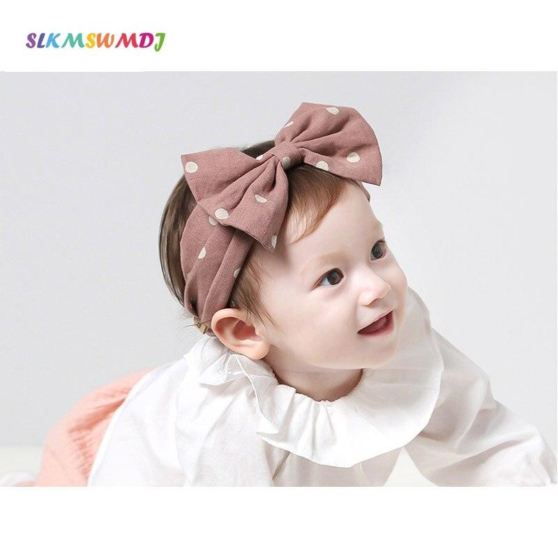 SLKMSWMDJ cocar infantil faixa do cabelo do bebê do algodão de linho arco orelhas de coelho bonito cocar acessórios para o cabelo menina 0-2 T