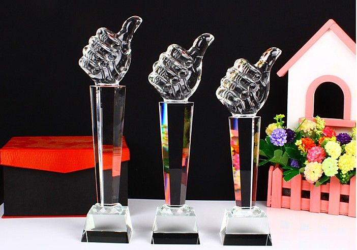 High quality!28 cm crystal trophy creative custom cup promotion thumbs up souvenirs,Free shipping free ship turbo for isuzu d max rodeo pickup 2004 4ja1 4ja1 l 4ja1l 4ja1t 2 5l rhf5 rhf4h vida va420037 8972402101 turbocharger