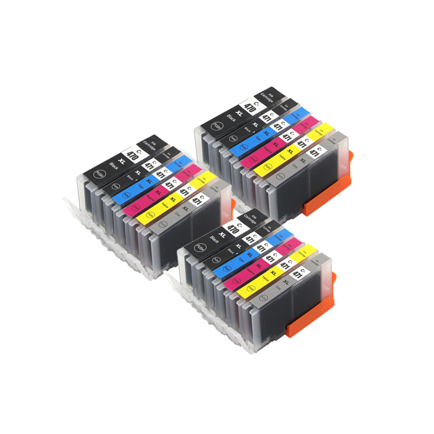 18 ink for canon 470 471 PGI 470 PGBK CLI 471 Gray compatible ink cartridge For