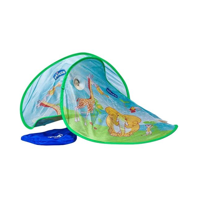 Защитные шторки д/автомобиля Chicco Safe, на присосках, с рисунком, сумка в комплекте
