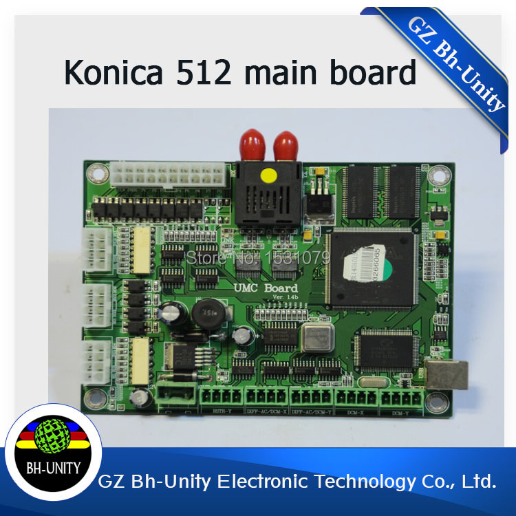 large format printer spare parts konica 512 head main board for eco solvent print head brand new inkjet printer spare parts konica 512 head board carriage board for sale