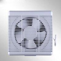 واحدة طريقة ضغط الهواء من مصاريع قوية مروحة العادم مروحة العادم المطبخ الدخان السناج المستنفذ